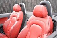 USED 2009 09 AUDI TT 2.0 TDI QUATTRO 2d 170 BHP Full Heated Red Leather