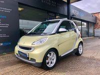 USED 2009 09 SMART FORTWO CABRIO 1.0 PASSION MHD 2d AUTO 71 BHP One owner, excellent condition, £20 Tax, Heated seats