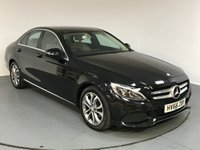 USED 2016 66 MERCEDES-BENZ C CLASS 1.6 C200 D SPORT 4d AUTO 136 BHP FULL MERCEDES HISTORY - ONE OWNER - SAT  NAV - LEATHER - REAR CAMERA - SENSORS - BLUETOOTH - AIR CON