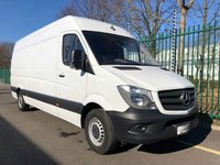 USED 2017 17 MERCEDES-BENZ SPRINTER 2.1 314CDI 1d 140 BHP LWB All Vehicles with minimum 6 months Warranty, Van Ninja Health Check and cannot be beaten on price!