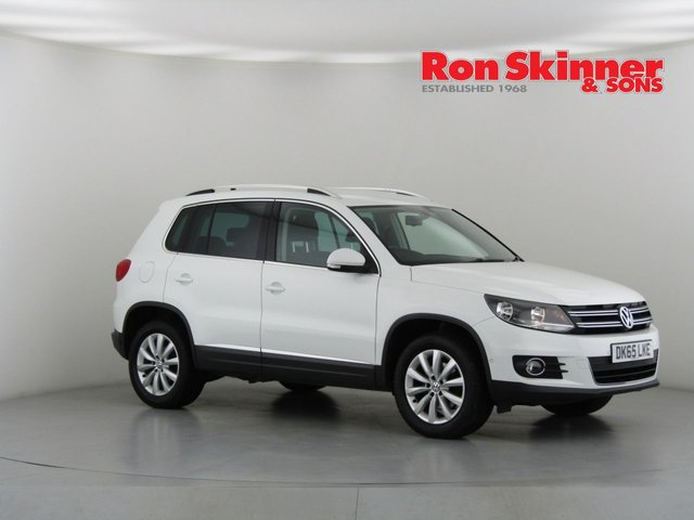 View our 2015 65 VOLKSWAGEN TIGUAN 2.0 MATCH TDI BLUEMOTION TECHNOLOGY 4MOTION 5d 148 BHP