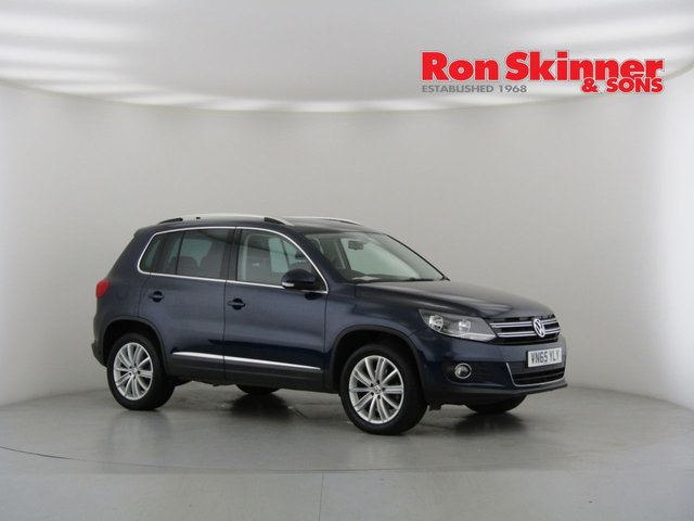 View our 2015 65 VOLKSWAGEN TIGUAN 2.0 MATCH EDITION TDI BMT 4MOTION DSG 5d AUTO 148 BHP