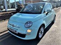 2014 FIAT 500 1.2 LOUNGE 3d 69 BHP £5995.00