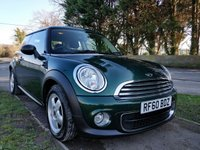 USED 2011 60 MINI HATCH ONE 1.6 ONE D 3d 90 BHP [SOUTHWICK SITE]
