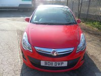 USED 2011 11 VAUXHALL CORSA 1.2 LIMITED EDITION 3d 83 BHP