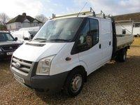 2009 FORD TRANSIT 2.4 350 E/F DRW UTILITY CAB DROPISIDE 115 BHP £2995.00