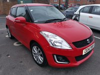 USED 2014 14 SUZUKI SWIFT 1.2 SZ4 5d AUTO 94 BHP AUTOMATIC, ONLY 14390 MILES, CHEAP TO RUN AND EXCELLENT FUEL ECONOMY, EXCELLENT SPECIFICATION INCLUDING AIR CONDITIONING, PRIVACY GLASS, CLIMATE CONTROL AND ALLOY WHEELS