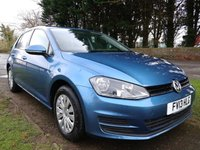 USED 2013 13 VOLKSWAGEN GOLF 1.6 S TDI BLUEMOTION TECHNOLOGY 5d 103 BHP [SOUTHWICK SITE]