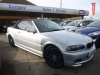 2002 BMW 3 SERIES 2.5 325CI 2d 190 BHP £4999.00