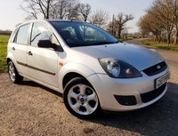 2008 FORD FIESTA 1.4 STYLE TDCI 5d + 12 MONTH MOT + SERVICE HISTORY  £1275.00