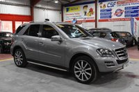 2010 MERCEDES-BENZ M CLASS 3.0 ML350 CDI BLUEEFFICIENCY GRAND EDITION 5d AUTO 231 BHP £15485.00
