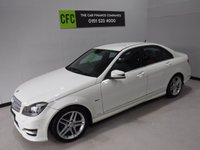 2011 MERCEDES-BENZ C CLASS 2.1 C220 CDI BLUEEFFICIENCY SPORT 4d AUTO 168 BHP £10000.00