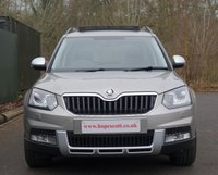 USED 2014 14 SKODA YETI 2.0TDI OUTDOOR LAURIN AND KLEMENT DSG 4x4 *****1 Owner Top Of The Range 4x4 L&K Model *****