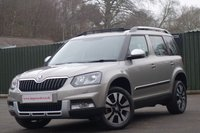 2014 SKODA YETI 2.0TDI OUTDOOR LAURIN AND KLEMENT DSG 4x4 £14750.00