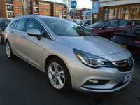 USED 2017 17 VAUXHALL ASTRA 1.4 SRI S/S 5d AUTO 148 BHP ULEZ EXEMPT GREAT FINANCE DEALS AVAILABLE