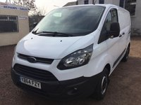 USED 2015 64 FORD TRANSIT CUSTOM 2.2 310 LR P/V 1d 99 BHP