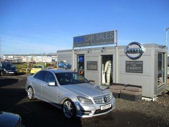 2011 MERCEDES-BENZ C CLASS 2.1 C220 CDI BLUEEFFICIENCY SPORT 4d AUTO 168 BHP £8495.00