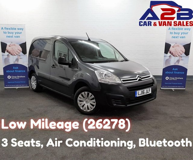 3edeb63520708b 2016 16 CITROEN BERLINGO 1.6 625 ENTERPRISE BLUE HDI