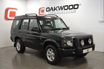 2004 LAND ROVER DISCOVERY 2 2.5 PURSUIT S TD5 5d 136 BHP £5495.00