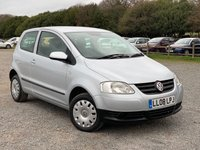 USED 2008 08 VOLKSWAGEN FOX 1.4 URBAN 75 3d 75 BHP REMOTE LOCKING, CD-PLAYER, ELECTRIC WINDOWS, METALLIC PAINT, IDEAL 1ST CAR, ECONOMICAL, LOW INSURANCE, SAME DAY FINANCE,