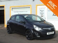 """USED 2013 13 VAUXHALL CORSA 1.2 SXI 3d 83 BHP 16"""" Alloys, 4 Service Stamps, Front Fog lights"""