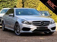 USED 2015 15 MERCEDES-BENZ E CLASS 2.1 E300 BLUETEC HYBRID AMG SPORT 4d AUTO 202 BHP (NAV, PAN ROOF & REAR CAMERA)