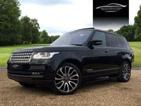 USED 2015 LAND ROVER RANGE ROVER 3.0 TDV6 VOGUE SE 5d AUTO 255 BHP
