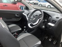 USED 2012 12 KIA PICANTO 1.2 HALO ECODYNAMICS 3d 84 BHP BALANCE OF MANUFACTURERS SEVEN YEAR WARRANTY