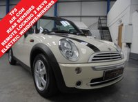 USED 2008 08 MINI CONVERTIBLE 1.6 COOPER 2d 114 BHP Comprehensive Service History, Rear Parking Sensors, Air Conditioning, Remote Central Locking with 2 Keys, Pepper Pack, Front Fogs, Height Adjust Front Seats, Fuel Computer, Electric Windows and Mirrors, 5 Star Rocket Alloys