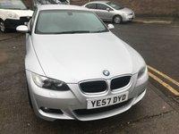 USED 2007 57 BMW 3 SERIES 2.0 320D M SPORT 2d AUTO 175 BHP