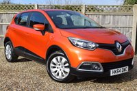 USED 2014 64 RENAULT CAPTUR 1.5 EXPRESSION PLUS ENERGY DCI S/S 5d 90 BHP Free 12  month warranty