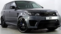 USED 2015 65 LAND ROVER RANGE ROVER SPORT 5.0 V8 Supercharged SVR 4X4 (s/s) 5dr Pan Roof, TV, Carbon Fibre Int