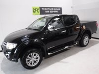 USED 2015 15 MITSUBISHI L200 2.5 DI-D 4X4 BARBARIAN LB DCB 1d 175 BHP # BUY FOR ONLY 62  A W/K FINANCE