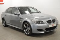 USED 2007 07 BMW M5 5.0 4d AUTO 501 BHP ONLY 61K + FULL HISTORY + 19 INCH + HEADS UP DISPLAY + SOFT CLOSE DOORS
