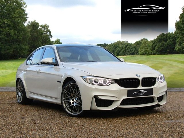 2016 66 BMW M3 3.0 M3 COMPETITION PACKAGE 4d AUTO 444 BHP