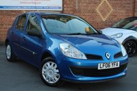 USED 2006 06 RENAULT CLIO 1.1 EXPRESSION 16V 5d 75 BHP