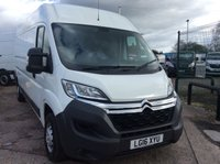 USED 2016 16 CITROEN RELAY LWB 2.2 35 L3H2 ENTERPRISE HDI 129 BHP 1 OWNER FSH  MANUFACTURERS WARRANTY EURO 5 SPARE KEY SATELLITE NAVIGATION 6 SPEED BLUETOOTH CRUISE CONTROL ELECTRIC WINDOWS AND MIRRORS REAR PARKING SENSORS
