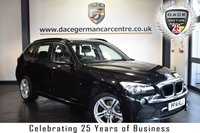 """USED 2014 14 BMW X1 2.0 XDRIVE 20D M SPORT 5DR 181 BHP superb service history *NO ADMIN FEES* FINISHED IN STUNNING BLACK METALLIC SAPPHIRE WITH FULL BLACK LEATHER INTERIOR + SUPERB SERVICE HISTORY + BLUETOOTH + DAB RADIO + SPORT SEATS + PARKING SENSORS  + 18"""" ALLOY WHEELS"""