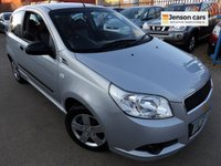 2009 CHEVROLET AVEO 1.2 S 3d 83 BHP PETROL  LOW 13,000 MILES 1 OWNER £3290.00