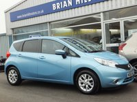 USED 2016 65 NISSAN NOTE 1.5 DCi ACENTA PREMIUM (NAV) 5dr  ONE OWNER. FULL NISSAN SERVICE HISTORY. (£0 Road tax & 78mpg)