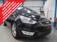 """USED 2012 12 FORD GALAXY 1.6 TITANIUM X TDCI 5d 115 BHP Comprehensive Service History, 7 Seats, Black Leather Seats, Front and Rear Parking Sensors, Panoramic Glass Roof, Bluetooth Phone and Media Streaming, Cruise Control with Speed Limiter, Dual Zone Climate with Rear Heater, DAB Radio/CD/BT/USB/Aux, Heated Windscreen, 17"""" Alloys"""