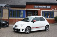 USED 2015 15 ABARTH 500 1.4 CUSTOM 3d 133 BHP 1 OWNER FROM NEW! FULL SERVICE HISTORY!