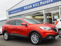 USED 2016 16 RENAULT KADJAR 1.5 DCi DYNAMIQUE NAV 5dr (110bhp) ONE OWNER. FULL RENAULT SERVICE HISTORY. (£0 Road tax & 74mpg)