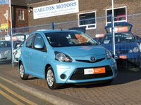 2014 TOYOTA AYGO 1.0 VVT-I MOVE 5d £SOLD