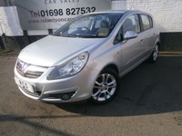 USED 2007 57 VAUXHALL CORSA 1.4 SXI A/C 16V 5dr