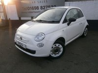 2012 FIAT 500 1.2 POP 3dr £3500.00