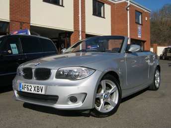 2012 BMW 1 SERIES 2.0 118D EXCLUSIVE EDITION 2d 141 BHP £9488.00