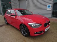 2012 BMW 1 SERIES 2.0 116D SPORT 5d 114 BHP £7290.00