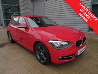 USED 2012 12 BMW 1 SERIES 2.0 116D SPORT 5d 114 BHP