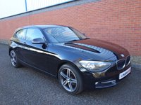 2013 BMW 1 SERIES 1.6 114D SPORT 3d 94 BHP £8490.00